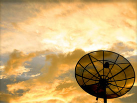 Photo of satellite dish
